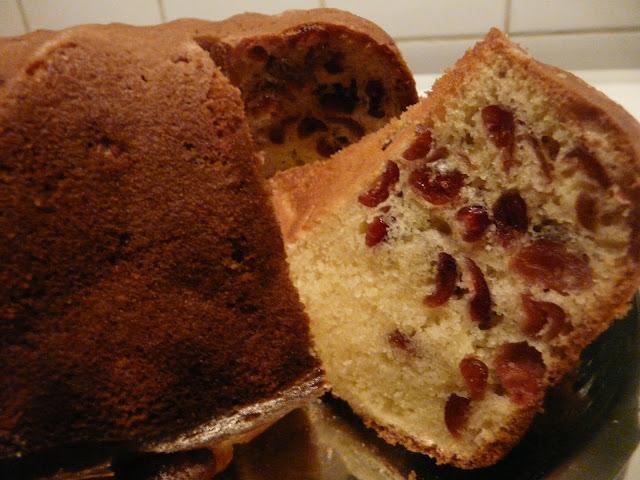 Cake aux Cranberries