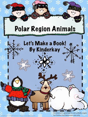 http://www.teacherspayteachers.com/Product/Polar-Region-Animals-Lets-Make-a-Book-Easy-Reader-packet-137616
