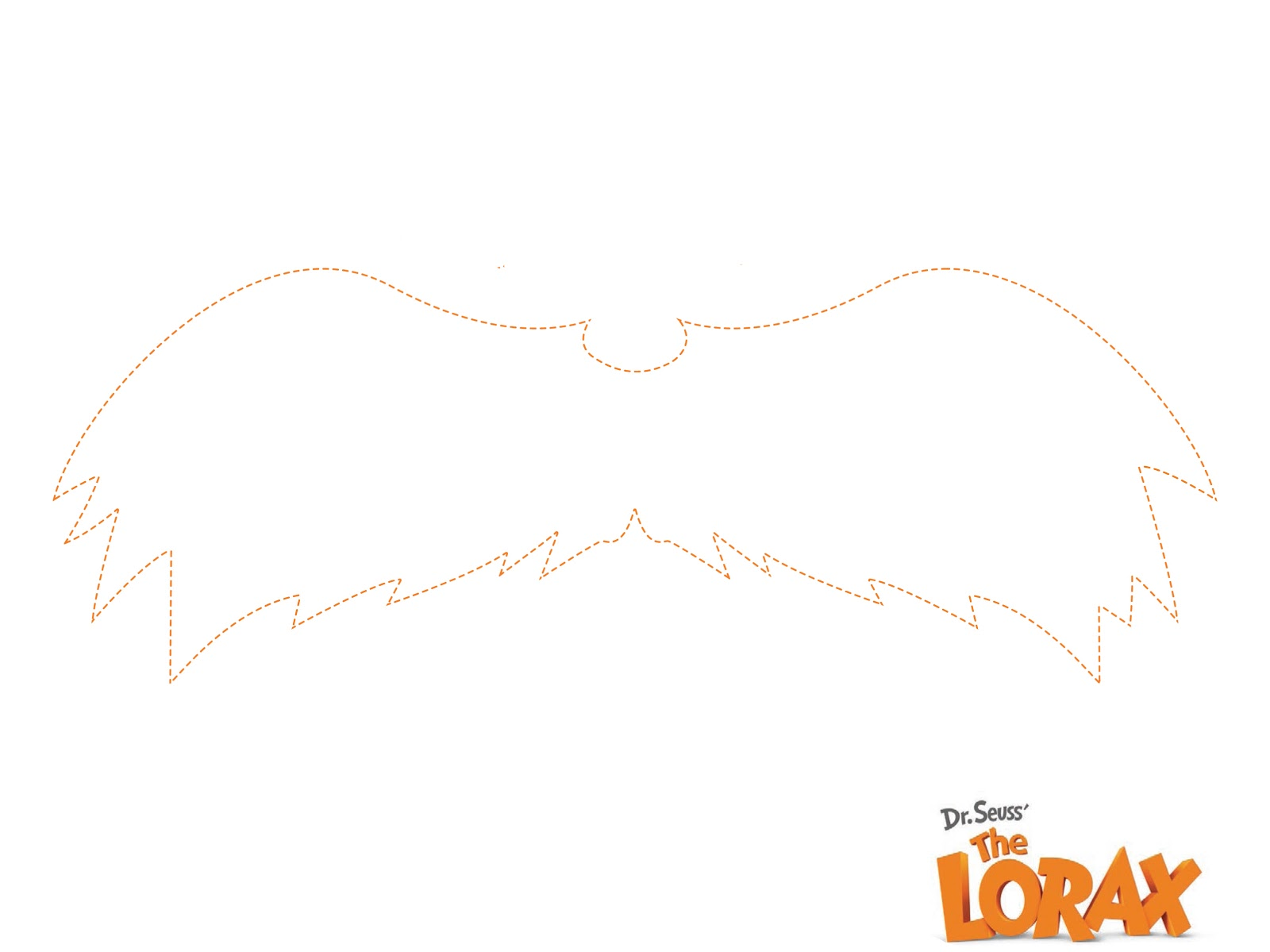 Moustache Coloring Pages #1