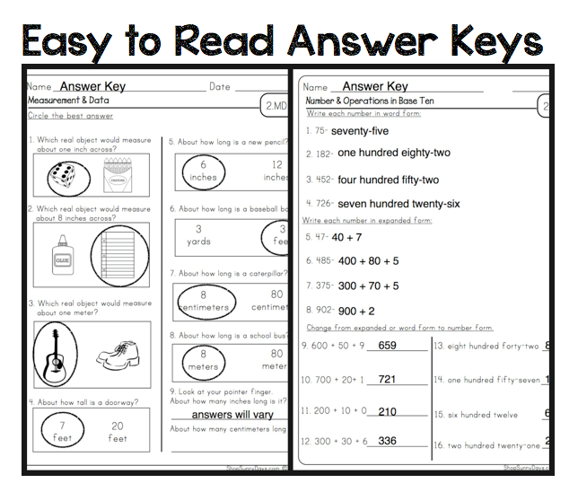 Printables 4th Grade Math Answer Sheets math worksheets for 4th grade with answer key 4 key