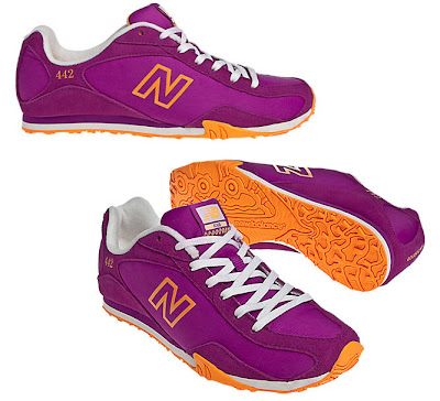 New Balance sneakers, New Balance 442, fashionable sneakers, women's sneakers, pink sneakers