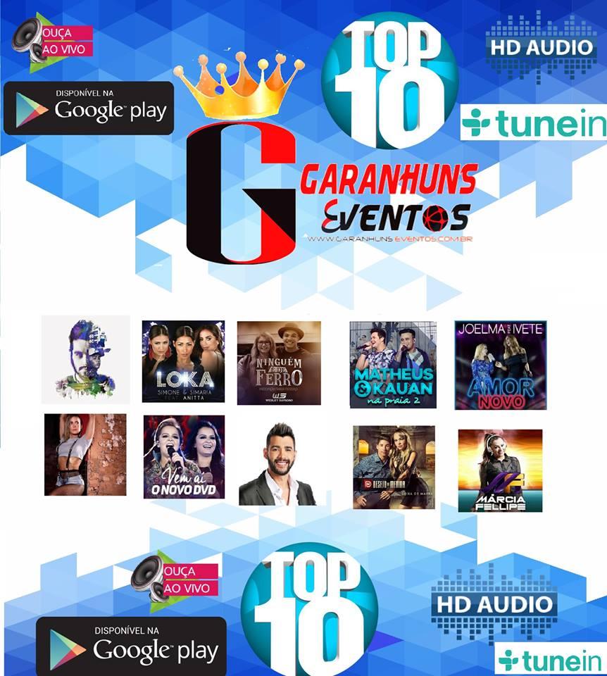 TOP 10 GARANHUNS EVENTOS