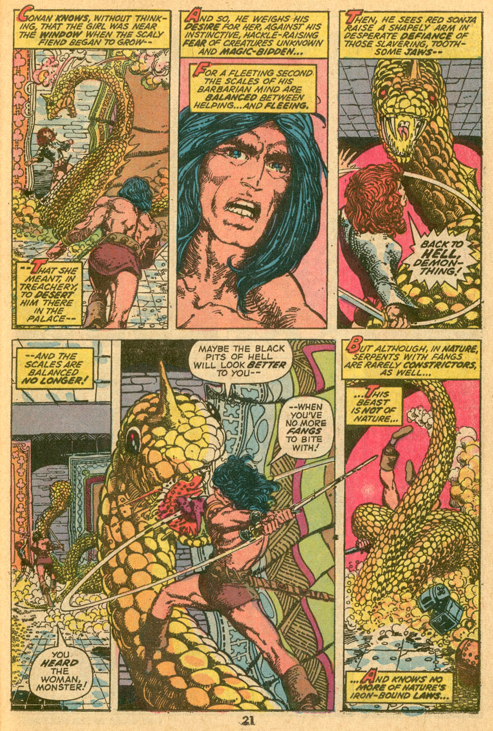 Conan the Barbarian (1970) Issue #24 #36 - English 16