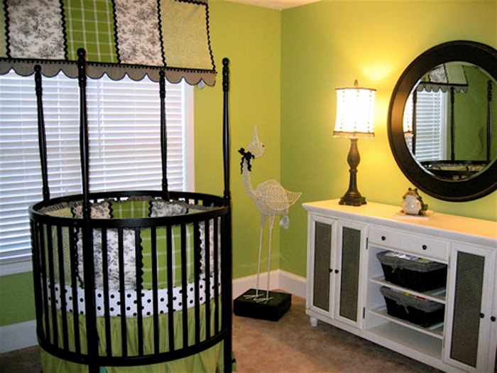 Nursery Room Ideas: Green Themes Nursery Ideas