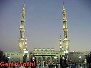 Madinah-Masjid Nabawi-Gema Santri