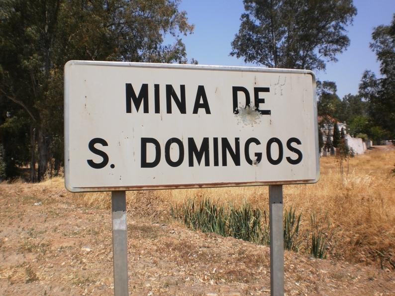 Placa Localidade Mina São Domingos