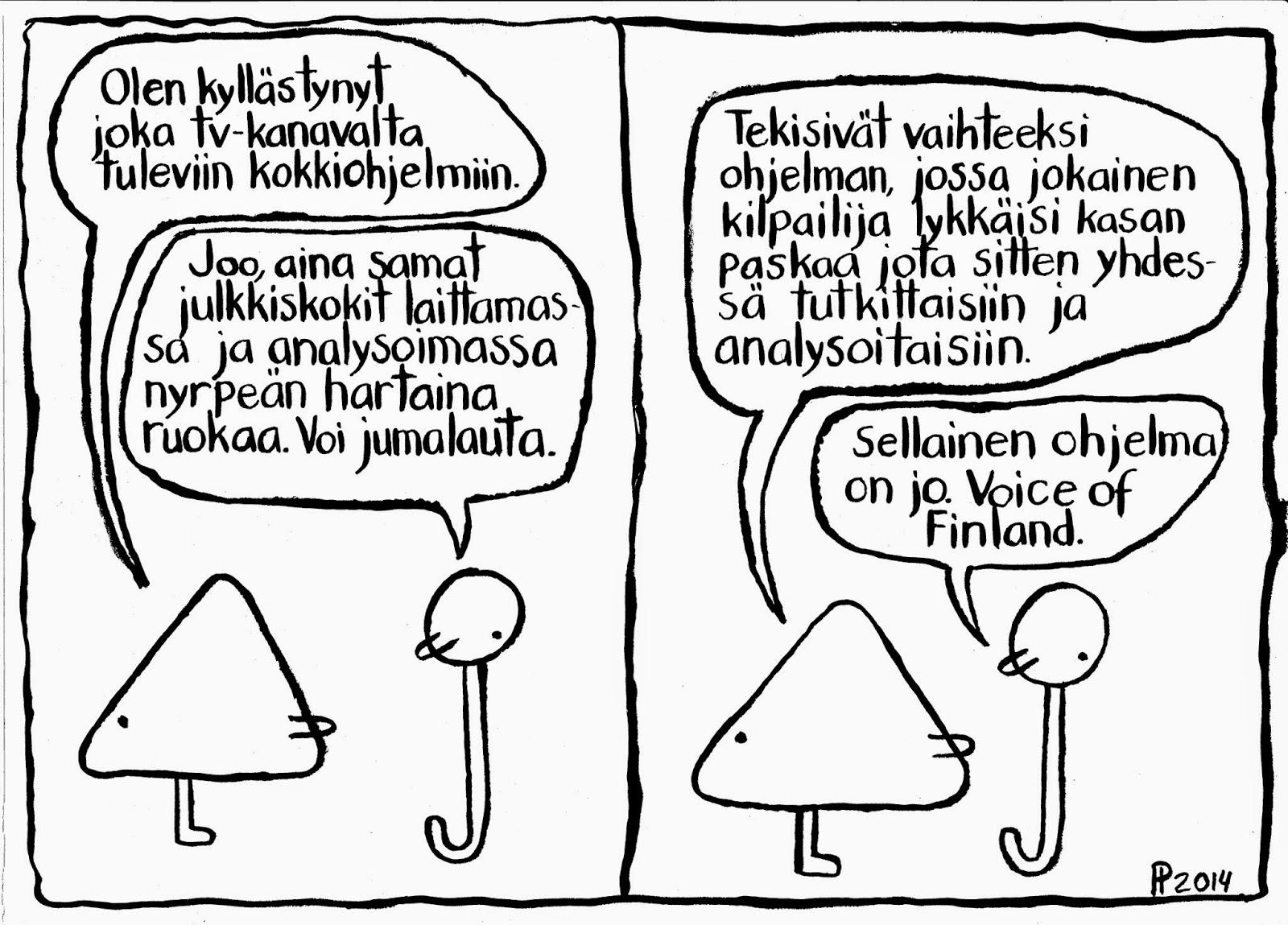 hauska vitsi Tampere