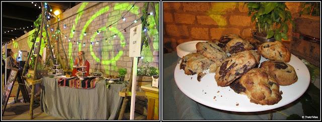 Brunch Bazar Faust Paris Pont Alexandre III juin 2013 cookies bio