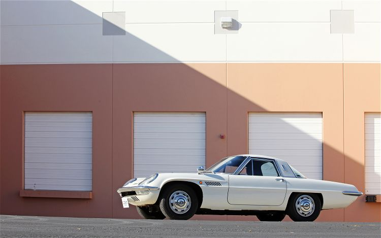 Mazda Cosmo Sport 110S stary japoński samochód, klasyk, oldschool, 日本車, クラシックカー