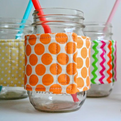 How to Make Mason Jar Cozies