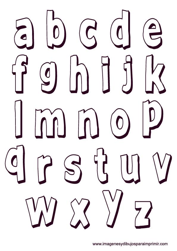 Moldes de letras para imprimir - Letras decorativas para ninos ...