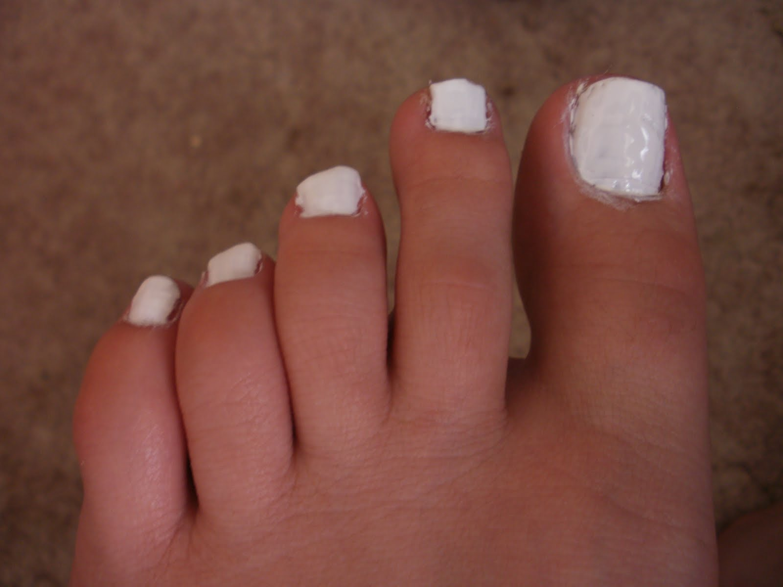 Artistry Nails: Black & White Decal Pedicure