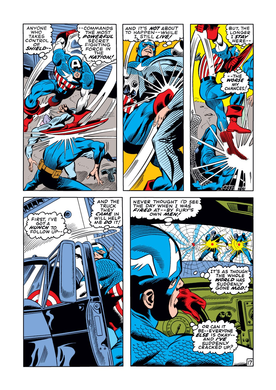 Captain America (1968) Issue #123 #37 - English 18