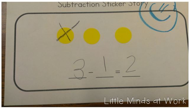 Teaching Subtraction To The Common Core In Kindergarten