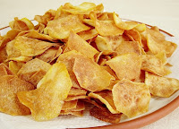 Chips de Batata-Doce (vegana)