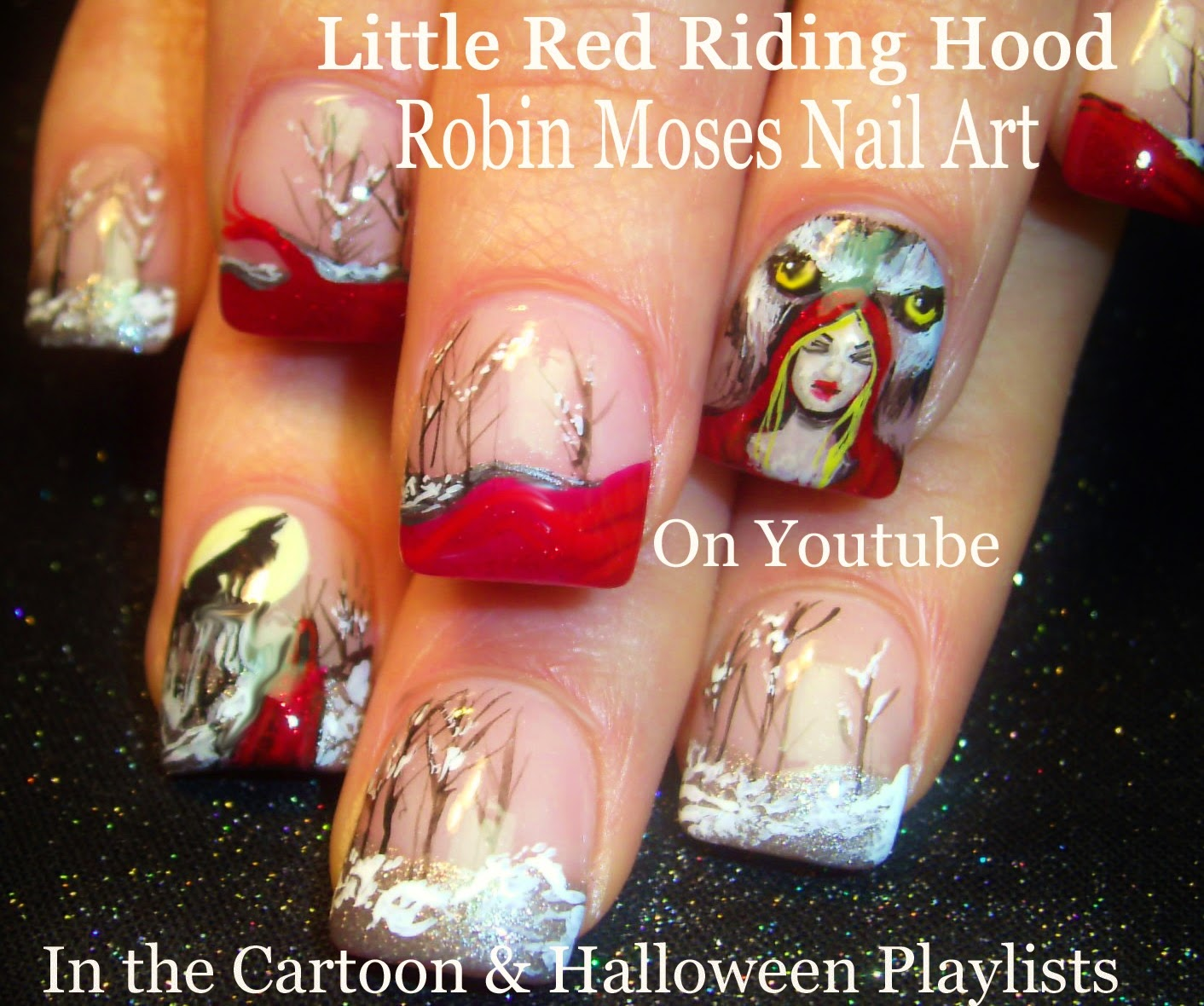 "Robin Moses Nail Art Designs: Robin Moses Nail Art: ""red Nails"" ""red Nail Art"" ""red Nail"