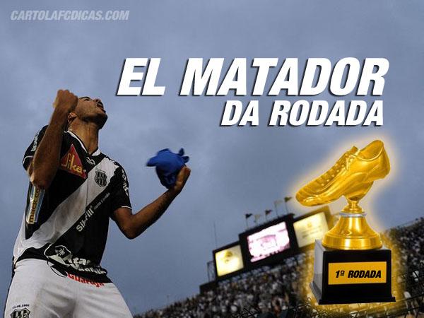 Roger da Ponte é o El Matador da primeira rodada do CartolaFC