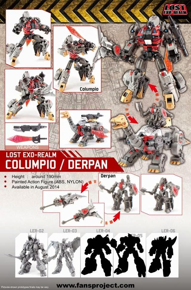 FP Columpio Derpan Dinobots Sludge Snarl Swoop Slag Slug Grimlock G1 3P