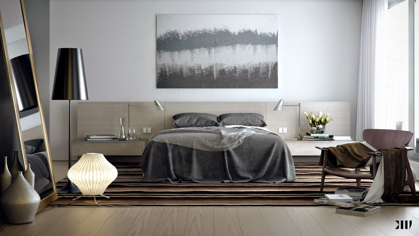 brown bedroom ideas cozy and calming effect