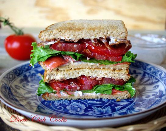 smoked salmon blt sandwich http www dixiechikcooks com smoked salmon