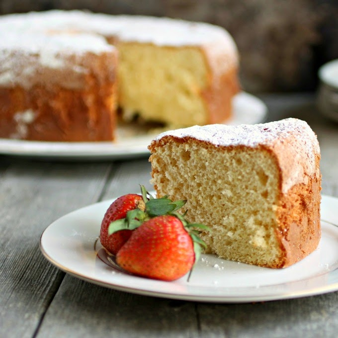 Mom's Extra Tall Sponge Cake