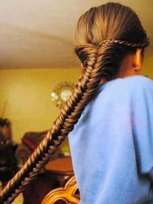 peinados+trenzas+espiga