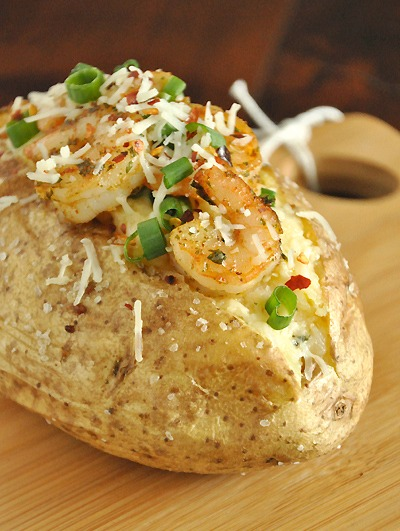 Shrimp Stuffed Potatoes