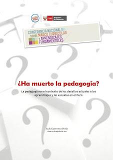 Algunas tesis sobre los retos de la pedagogía