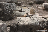 Israel in photos: The Ancient Synagogue of Arbel, Lower Galilee, Ruins of Arbel ancient Synagogue
