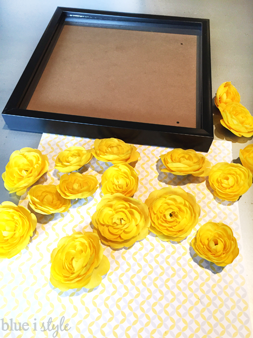 Supplies for Framing Silk Flowers