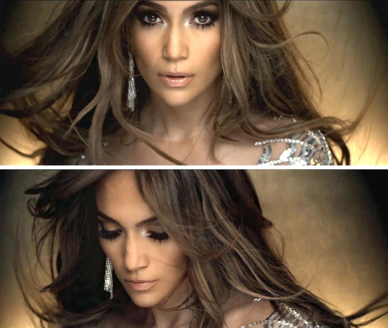 jennifer lopez on the floor hair colour. jennifer lopez on the floor