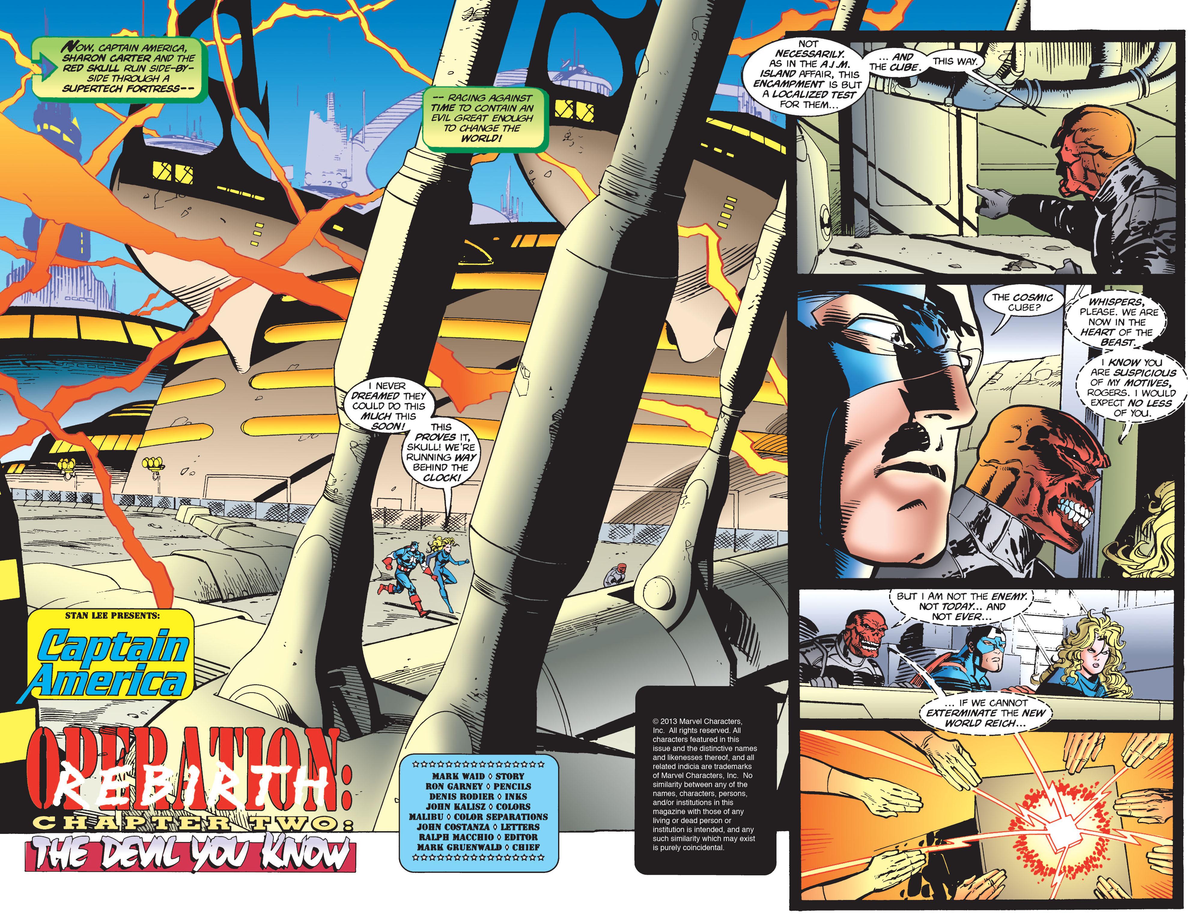 Captain America (1968) Issue #446 #400 - English 3