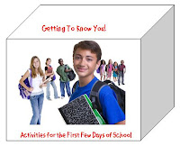 Getting to Know You Activities for the First Few Days of School photo