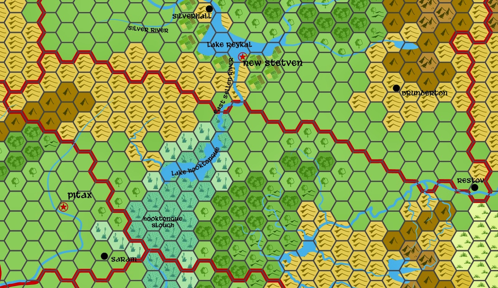Johns hex and non hex fantasy maps july 2014 gumiabroncs Gallery