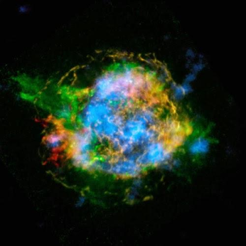 Emisi radioaktif ledakan bintang, supernova