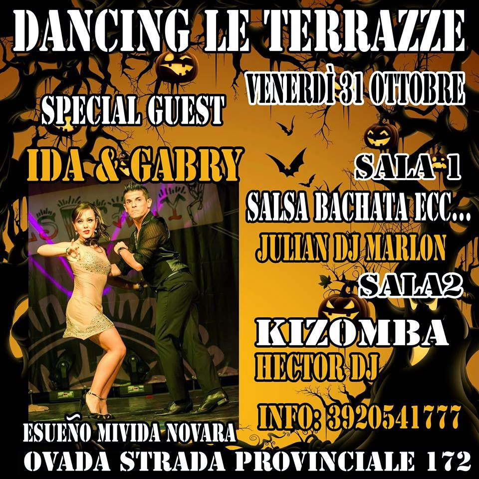 Blog di Julian Dj: Festa di Halloween al Dancing Le Terrazze (Ovada ...