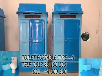 toilet portabel fiberglass, flexible toilet fibreglass, ipal biotech, stp