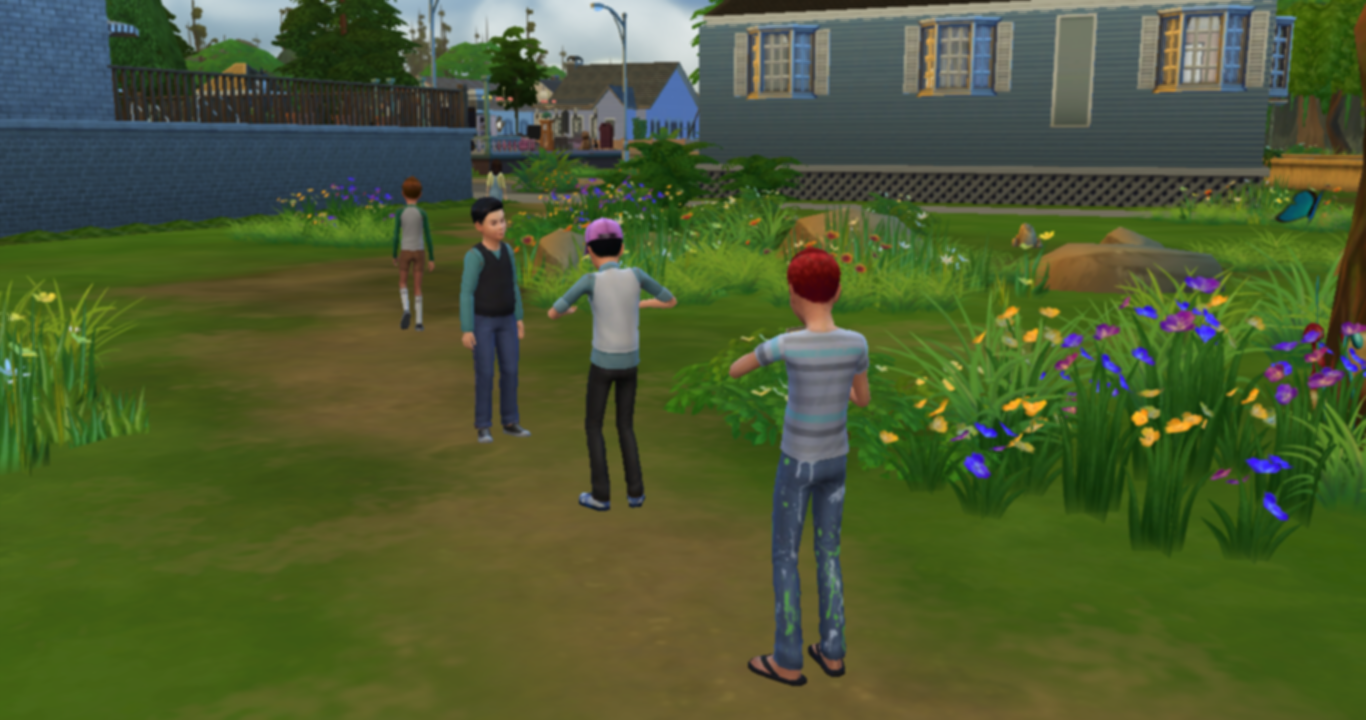 how to move sims into another town sims 4