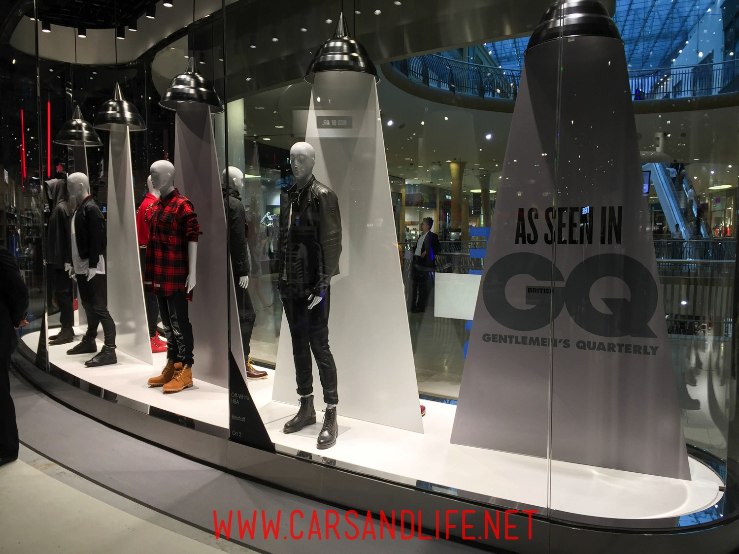 GQ Magazine at Selfridges Birmingham