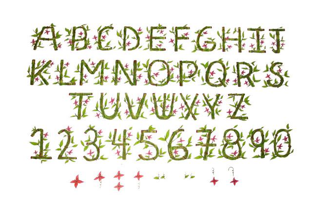 Bamboo Font3