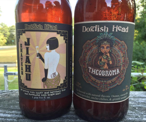 Dogfish Head Brewery Chateau Jiahu & Theobroma