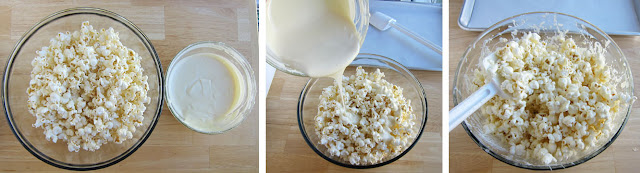 How to Make White Chocolate Popcorn
