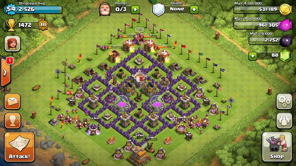 Level 7 Town Hall Defense