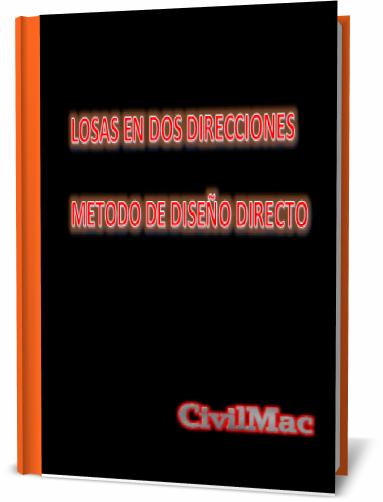 CivilMac, Ingeniería Civil , Losas dos direcciones