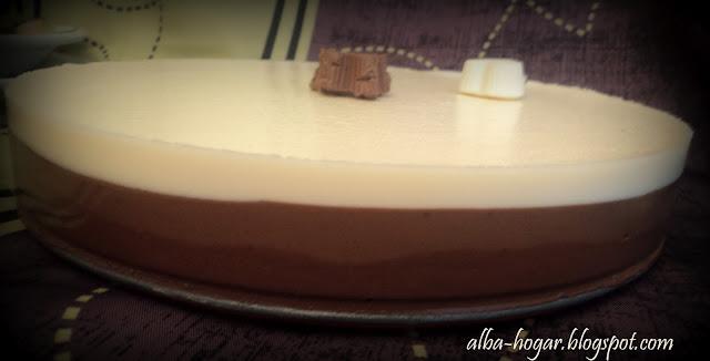 tarta 3 chocolates alba hogar