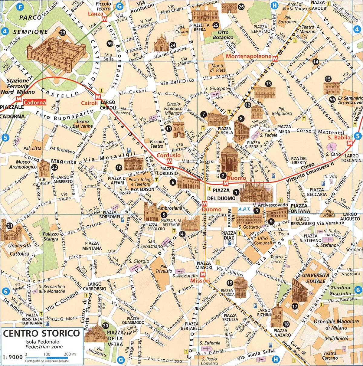 воспитание карта милана на русском языке с достопримечательностями кухонные столы Саранске