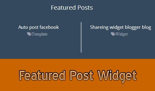 Featured-Post-blogger-widget
