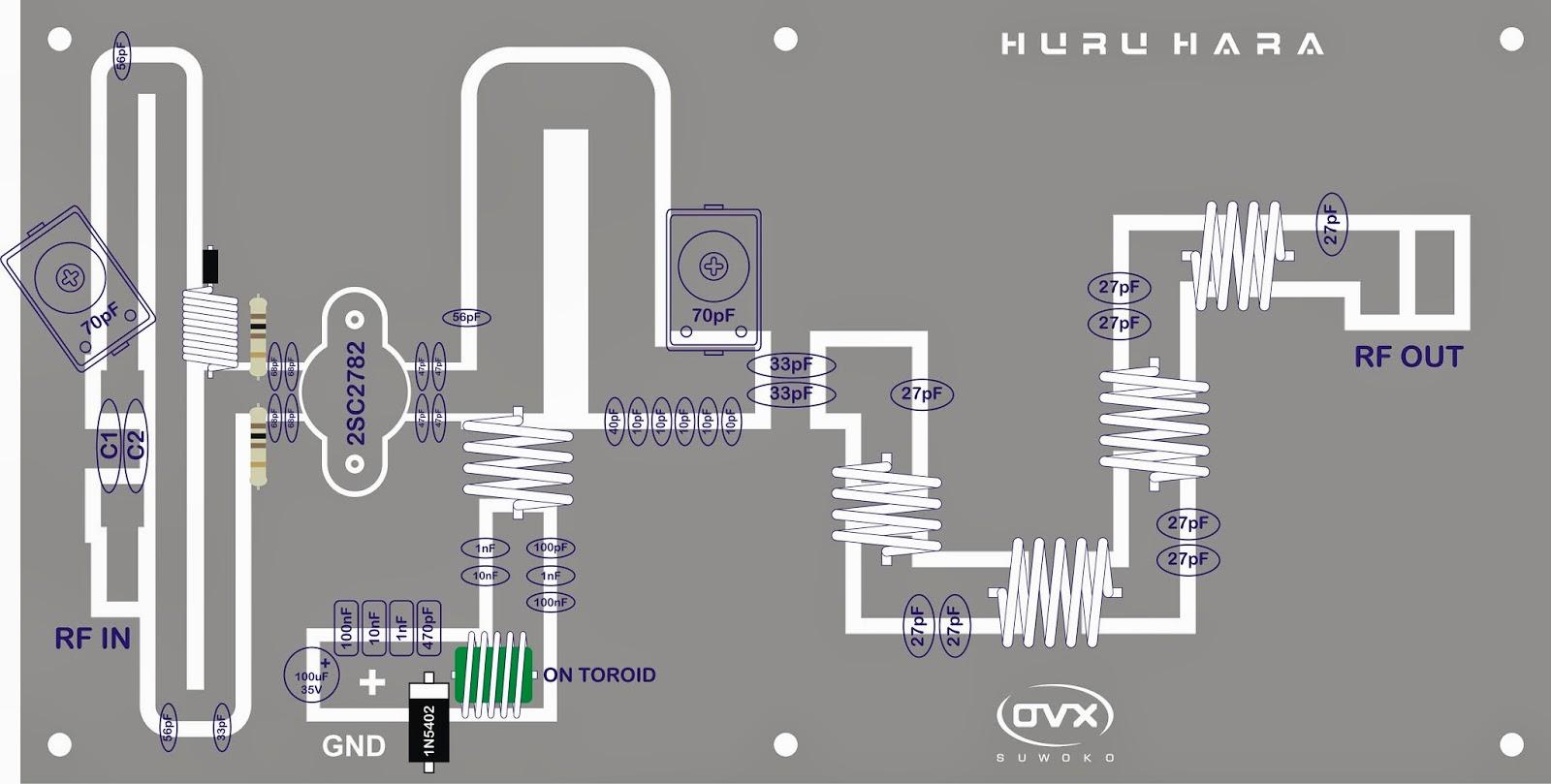 Suwoko Industries Rf Amplifier 2sc2782 Auto Electrical Wiring Diagram 100w Transmitter Power