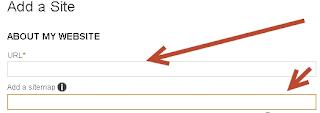 Add blog sitemap to bing