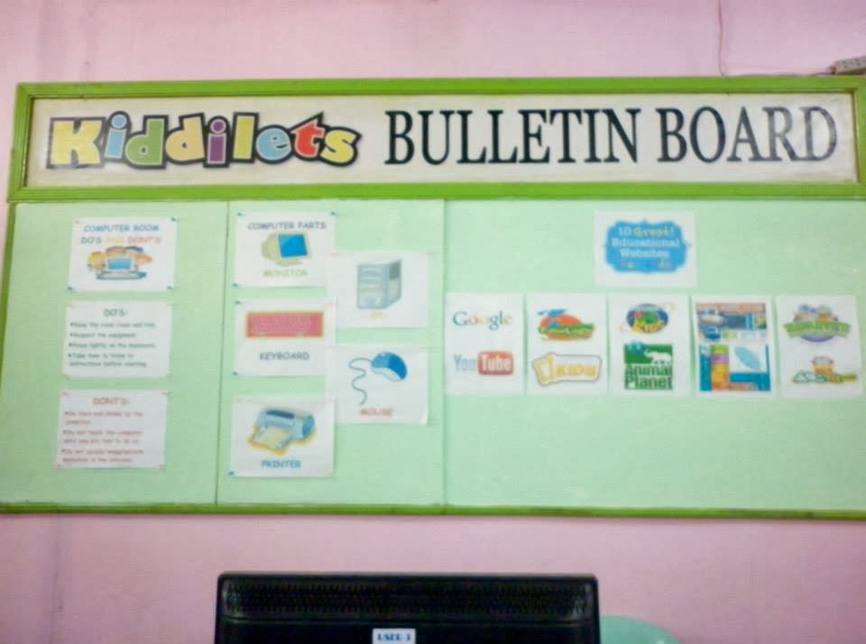 Field study 3 learning activity 2 bulletin board display for Cork board displays